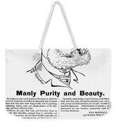 Cuticura Ad, 1887 Weekender Tote Bag