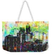 Cutout Art City Optimist Weekender Tote Bag