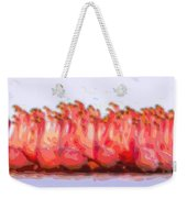 Cutout Layer Art Animal Portrait Flamingos Weekender Tote Bag