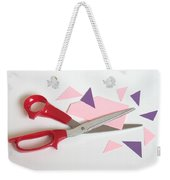 Cutting Corners Weekender Tote Bag