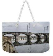 Cv - Susquehanna River Bridge Harrisburg  Pennsylvania Weekender Tote Bag