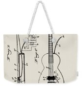 Cw Russell Acoustic Electric Guitar Patent 1939 Weekender Tote Bag
