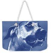 Cyanotype Dog Weekender Tote Bag