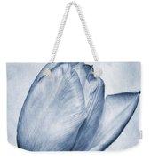 Cyanotype Tulip Weekender Tote Bag