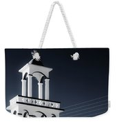 Cyclades Greece - Andros Island Church Weekender Tote Bag