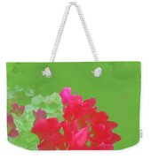 Cyclamen Dream Weekender Tote Bag