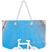 Cycle Path Weekender Tote Bag