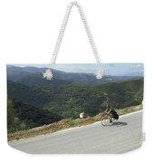 Cycling In Greek Mountains Weekender Tote Bag