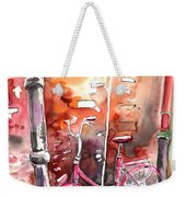 Cycling In Italy 02 Weekender Tote Bag