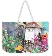 Cycling In The Mountains Of Gran Canaria Weekender Tote Bag