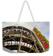 Cyclone Roller Coaster Weekender Tote Bag