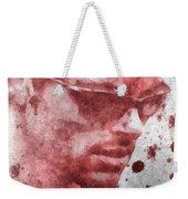 Cyclops X Men Paint Splatter Weekender Tote Bag