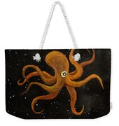 Cycloptopus Black Weekender Tote Bag