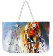 Cycloscape 01 Weekender Tote Bag