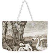 Cygnus Transformed Into A Swan Weekender Tote Bag