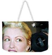 Cyndi Lauper 1988 Weekender Tote Bag