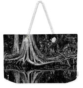 Cypress Roots - Bw Weekender Tote Bag
