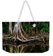 Cypress Roots Weekender Tote Bag