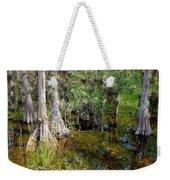 Cypress Trees 4021 Weekender Tote Bag