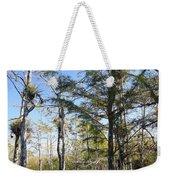 Cypress Swamp Weekender Tote Bag by Rudy Umans