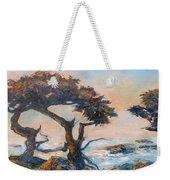 Cypress Tree Coast Weekender Tote Bag