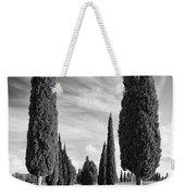 Cypress Trees - Tuscany Weekender Tote Bag