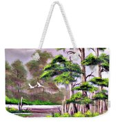 Cypress Trees-wakulla River Florida Weekender Tote Bag