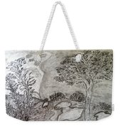 Cypresses In Cyprus Weekender Tote Bag