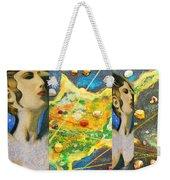 Cyprus And Aphrodite Weekender Tote Bag