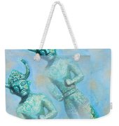 Cyprus Gods Of Trade. Weekender Tote Bag by Augusta Stylianou