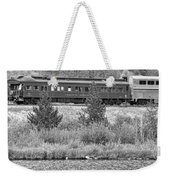 Cyrus K  Holliday Private Rail Car Bw Weekender Tote Bag