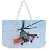 Czech Air Force Mi-35 Hind Helicopter Weekender Tote Bag