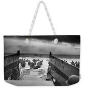 D-day Landing Weekender Tote Bag