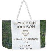 D. H. Johnson - Medal Of Honor Weekender Tote Bag