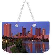 D2l38 Columbus Ohio Skyline Photo Weekender Tote Bag