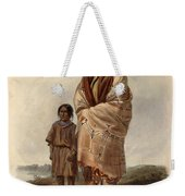 Dacota Woman And Assiniboin Girl Weekender Tote Bag