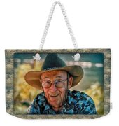 Dad In Cowboy Mood Weekender Tote Bag