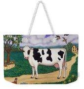 Dad's Prize Milk Cow Weekender Tote Bag