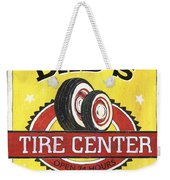 Dad's Tire Center Weekender Tote Bag by Debbie DeWitt
