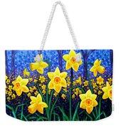Daffodil Dance Weekender Tote Bag