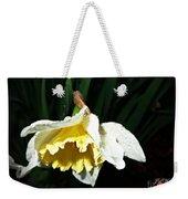 Daffodil In The Rain 2 Weekender Tote Bag