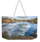 Daffodil Lake Weekender Tote Bag by Adrian Evans