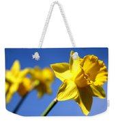 Daffodil Line Weekender Tote Bag