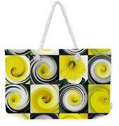 Daffodil Spring Mosaic Weekender Tote Bag