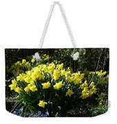 Daffodils And Bluebells Weekender Tote Bag