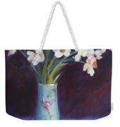 Daffodils And Cherries Weekender Tote Bag