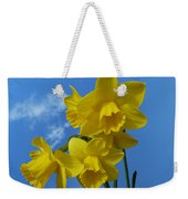 Daffodils In The Sky Weekender Tote Bag