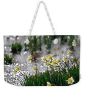 Daffodils On The Shore Weekender Tote Bag
