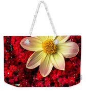 Dahlia And Kalanchoe Weekender Tote Bag
