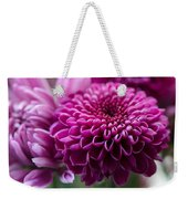 Dahlia And Mums Weekender Tote Bag